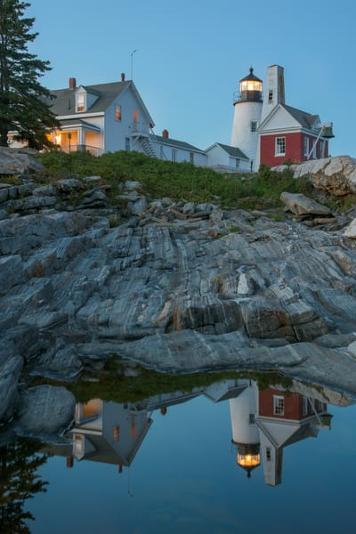 Pemaquid Point Reflections