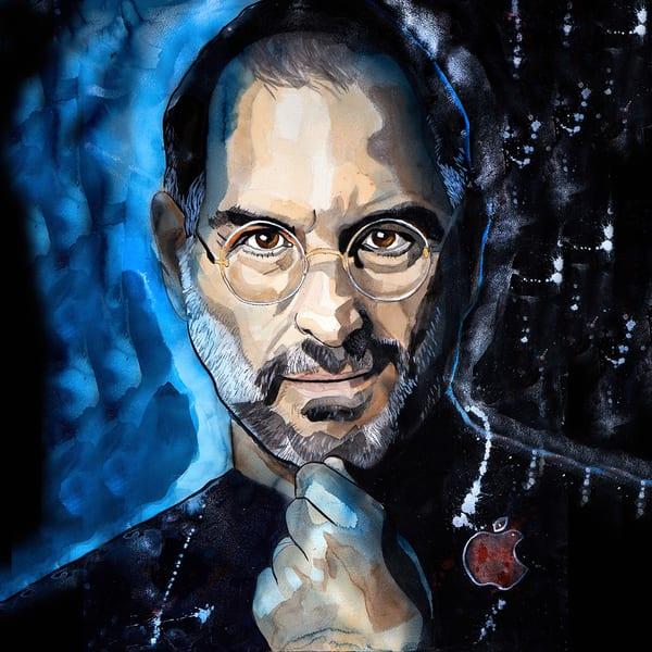 Steve Jobs Coaster Art | William K. Stidham - heART Art