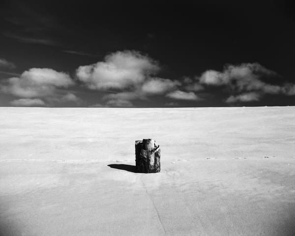 Piling Remnant   Guadalupe Dunes Photography Art | Julian Whatley Photography