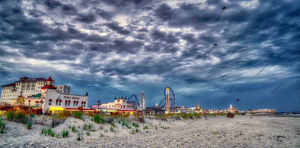 Boardwalk Evening Photography Art | Soaring Whales Photography LLC