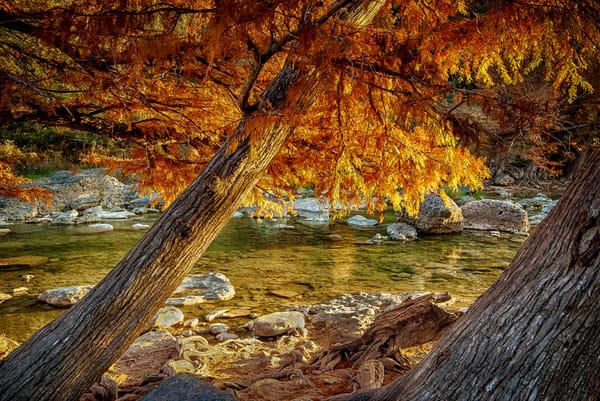 Pedernales Autumn Photography Art | Michael Penn Smith - Vision Worker