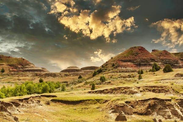 Painted Hills Sunset Photography Art   CJ Harding