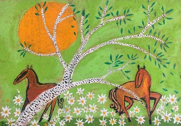 Horses In The Sun  Art | DuggArt