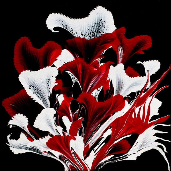Red Callas Photography Art | CJ Harding