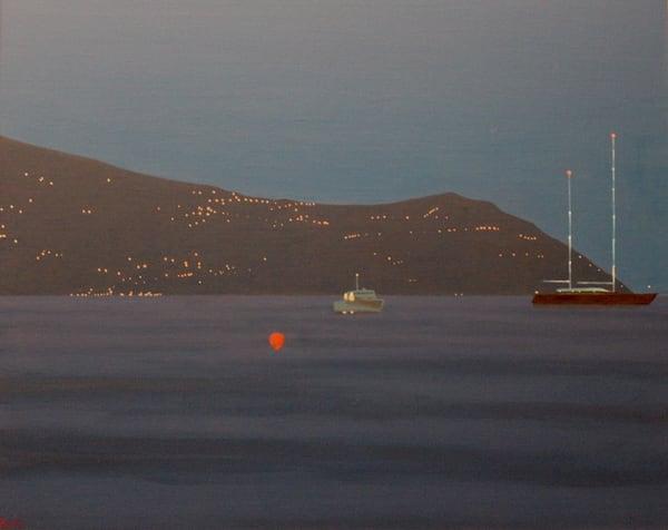 Santa Margherita Night Ii Art | David R. Prentice