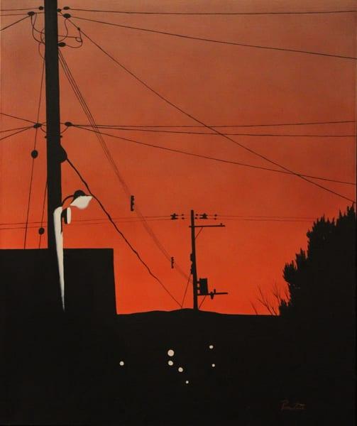 Sunset At My House Art | David R. Prentice