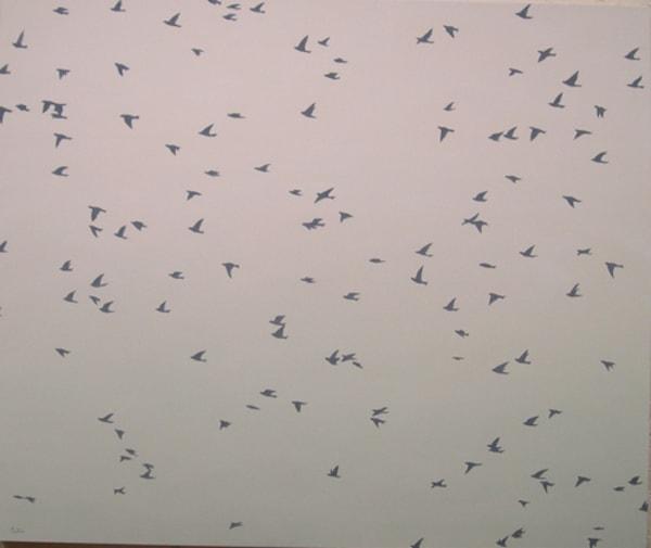 Flock Iii Art | David R. Prentice