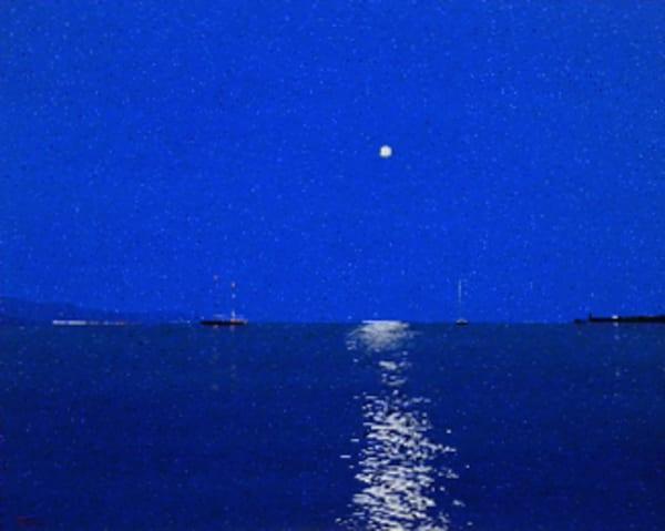 Santa Margherita Night Art | David R. Prentice