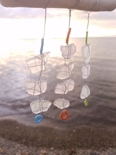 Beach Glass Decor