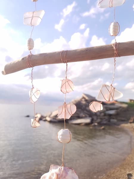 Pink Princess | Beach Glass
