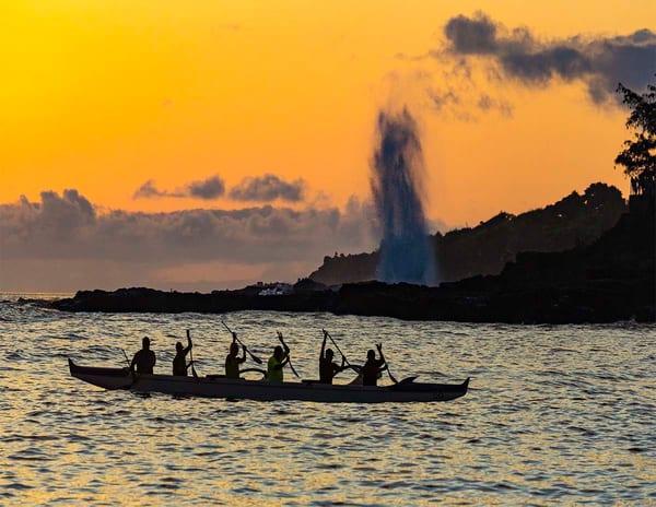 Spouting Horn Canoe Photography Art | Inspiring Images