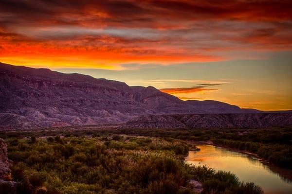Rio Grande Dawn Photography Art | Michael Penn Smith - Vision Worker