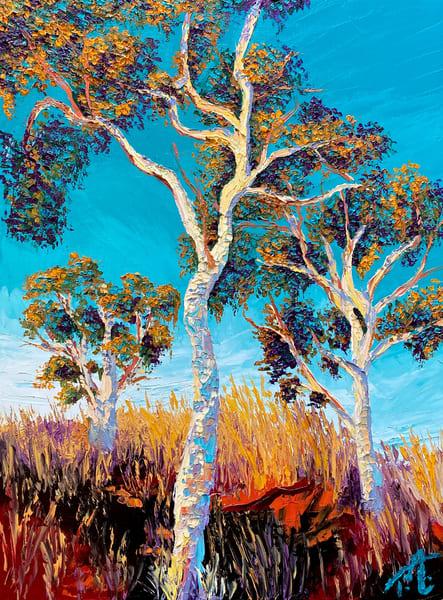 Golden Hour   Original Oil Painting Art   Tessa Nicole Art