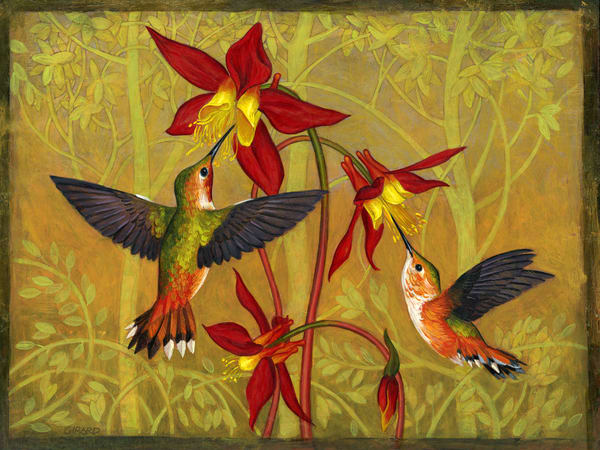 Hummingbirds Art | Studio Girard