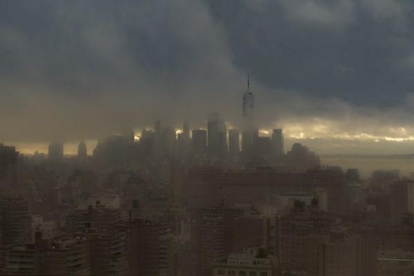 The Haze At Dusk Downtown Photography Art   Cid Roberts Photography LLC