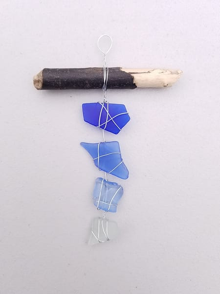 Blue Hues Ornament | Creative Spirit Studios