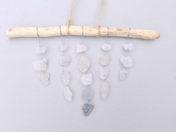 Ephemeral Suncatcher | Beach Glass