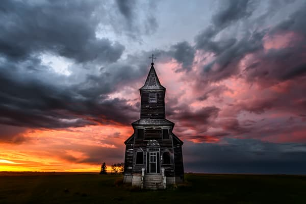 Deliver Us From Evil   Somewhere, Saskatchewan Photography Art | Byron Fichter Fotography
