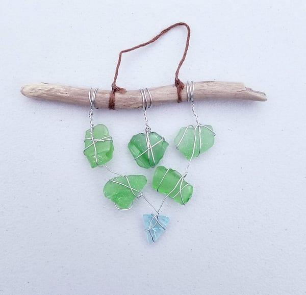 Green Cascade Ornament | Creative Spirit Studios