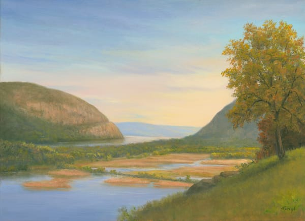 Storm King Mountain And Constitution Marsh Art | Tarryl Fine Art