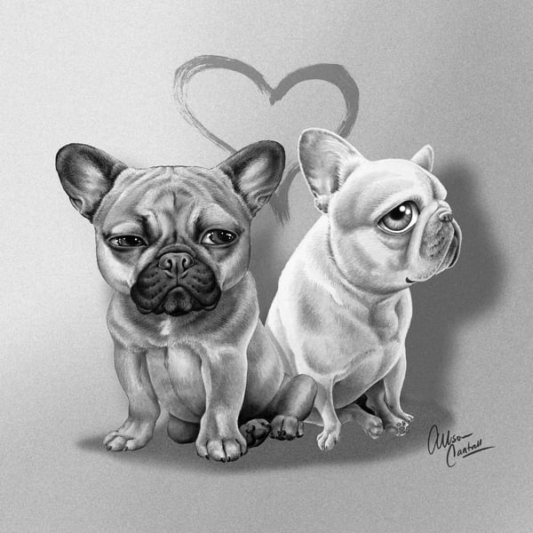 Coco & Elvis Art | BunnyPigs