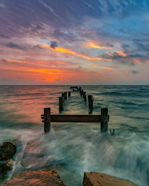 Serenity In A Sea Of Uncertainty Photography Art | John Martell Photography