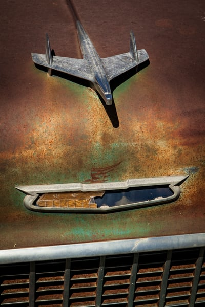 Rusty '56 Chevy Photography Art | Michael Penn Smith - Vision Worker