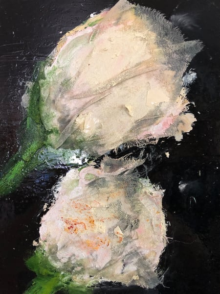 White Roses Art | Adam Shaw Gallery