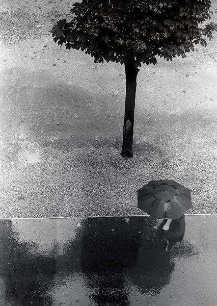 Man With Umbrella, Paris Photography Art | Ben Asen Photography