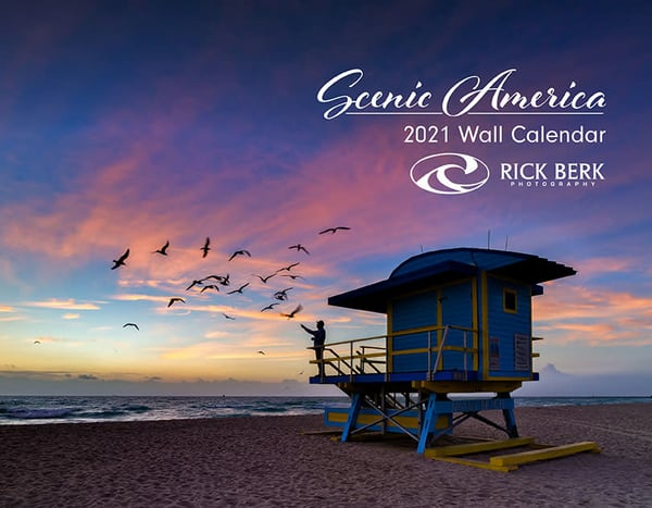 2021 Scenic America 12-Month Calendar | Shop Photography by Rick Berk