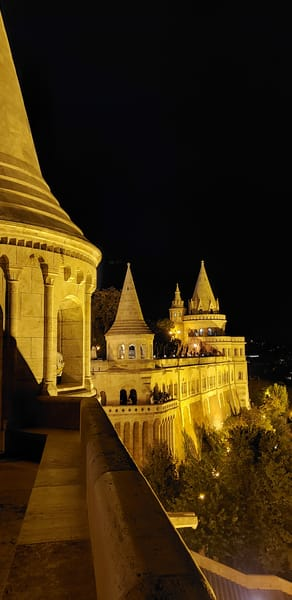 Bright Lights, Fisherman's Bastion, Budapest Photography Art | Photoissimo - Fine Art Photography