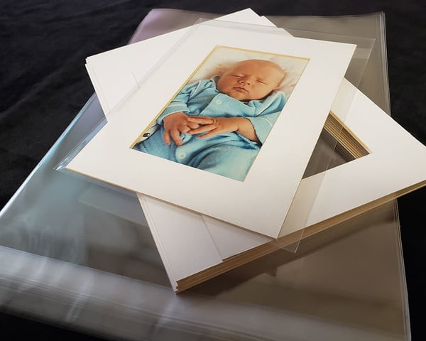 Pre Cut Mat / Bag | Inkdrop Arthaus