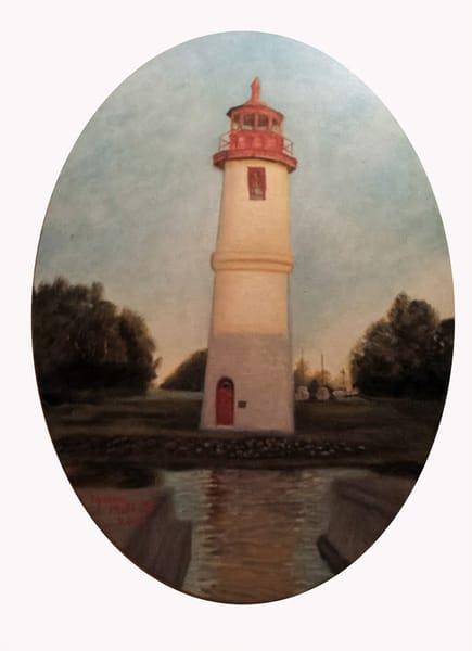 Lighthouse Cove  Art | Lynda Moffatt Fine Arts