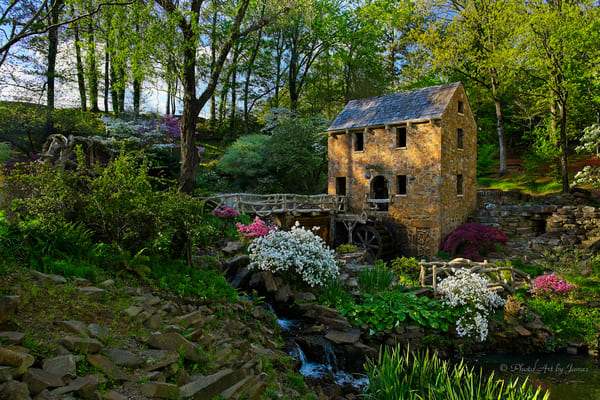 Photo Art by James - The Old Mill