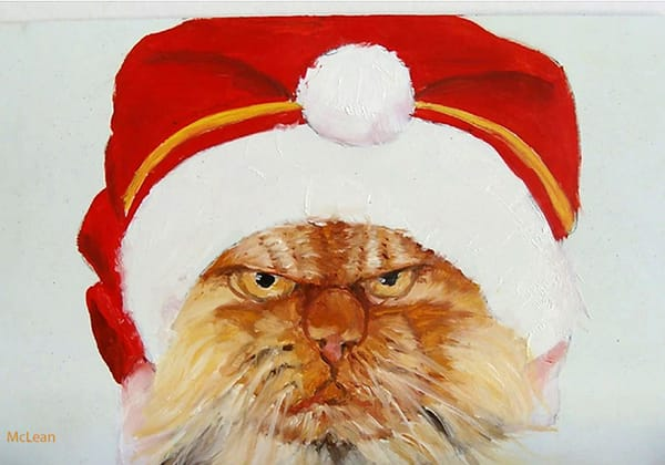Bah Humbug, From an Original Oil Painting