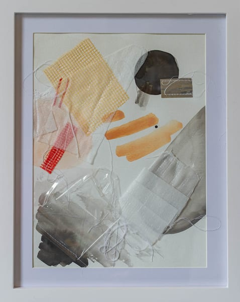 Quarantine Series, #4 (Framed) Art | Makiko Harris Art