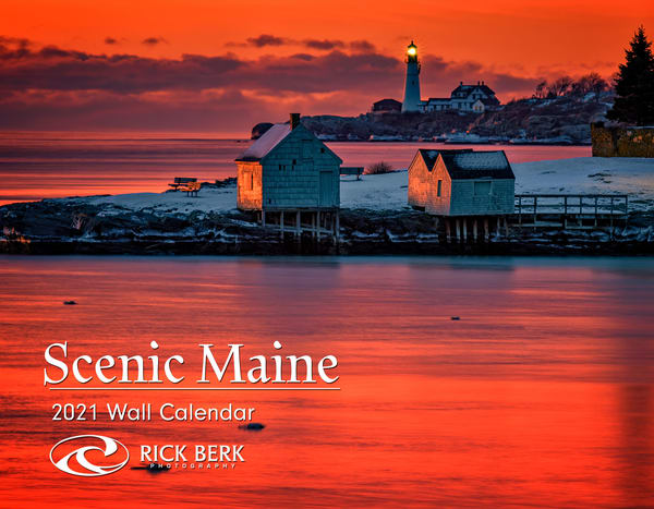 2021 Scenic Maine Calendar | Shop Photography by Rick Berk