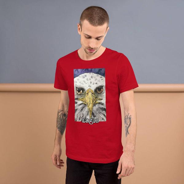 """Eagle Eyes"" T Shirt | Water+Ink Studios"