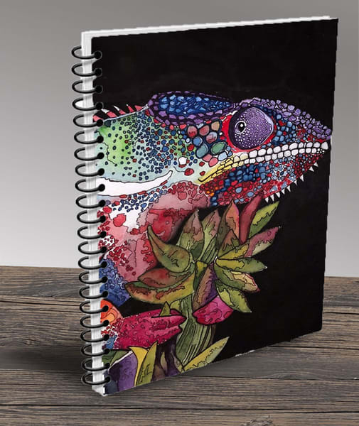 Panther Chameleon Notebook | Water+Ink Studios