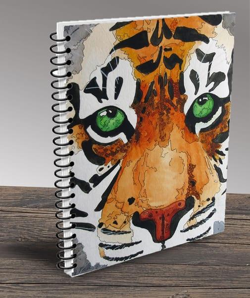 """Tiger 01"" Notebook | Water+Ink Studios"