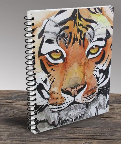 """Tiger 02"" Notebook | Water+Ink Studios"
