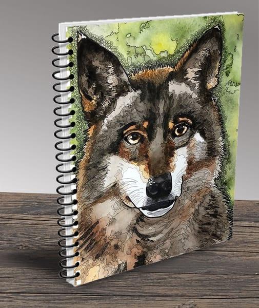 """Wolf"" Notebook | Water+Ink Studios"