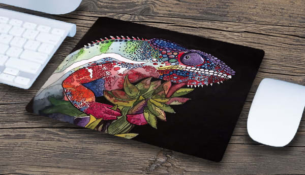 """""""Panther Chameleon"""" Mousepad 