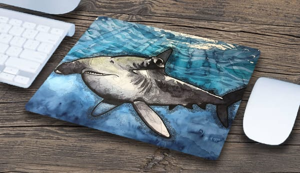 """Hammerhead"" Mousepad 
