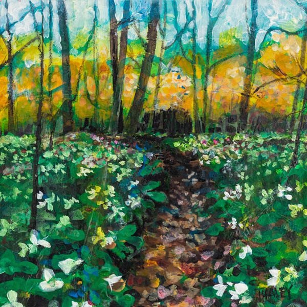 Woodland Trail Art | Terrie Haley Artist