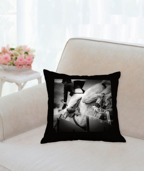 Pillow: 'high Heels B&W' 14x14 | Carol Brooks Parker Fine Art Photography