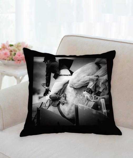 Pillow: 'high Heels B&W' 18x18 | Carol Brooks Parker Fine Art Photography