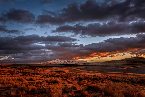 Sunset Antelope Island Photography Art | McKendrick Photography