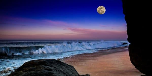Cabo Full Moon Photography Art | John Martell Photography