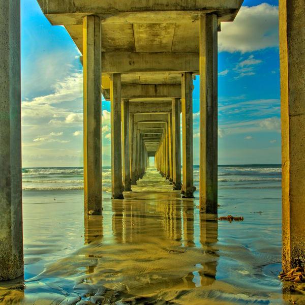 Scripts Pier Photography Art | John Martell Photography